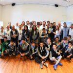 Reconocimiento a los atletas de los Juegos Evita y los Bonaerenses