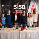 Se realizó la presentación oficial del Triathlon 5150