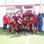 Las futbolistas de Flamengo femenino salieron campeonas en la liga
