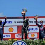 Marcos Quijada, logró podio y va por el campeonato