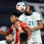 Argentina empató con Paraguay con un gol escobarense